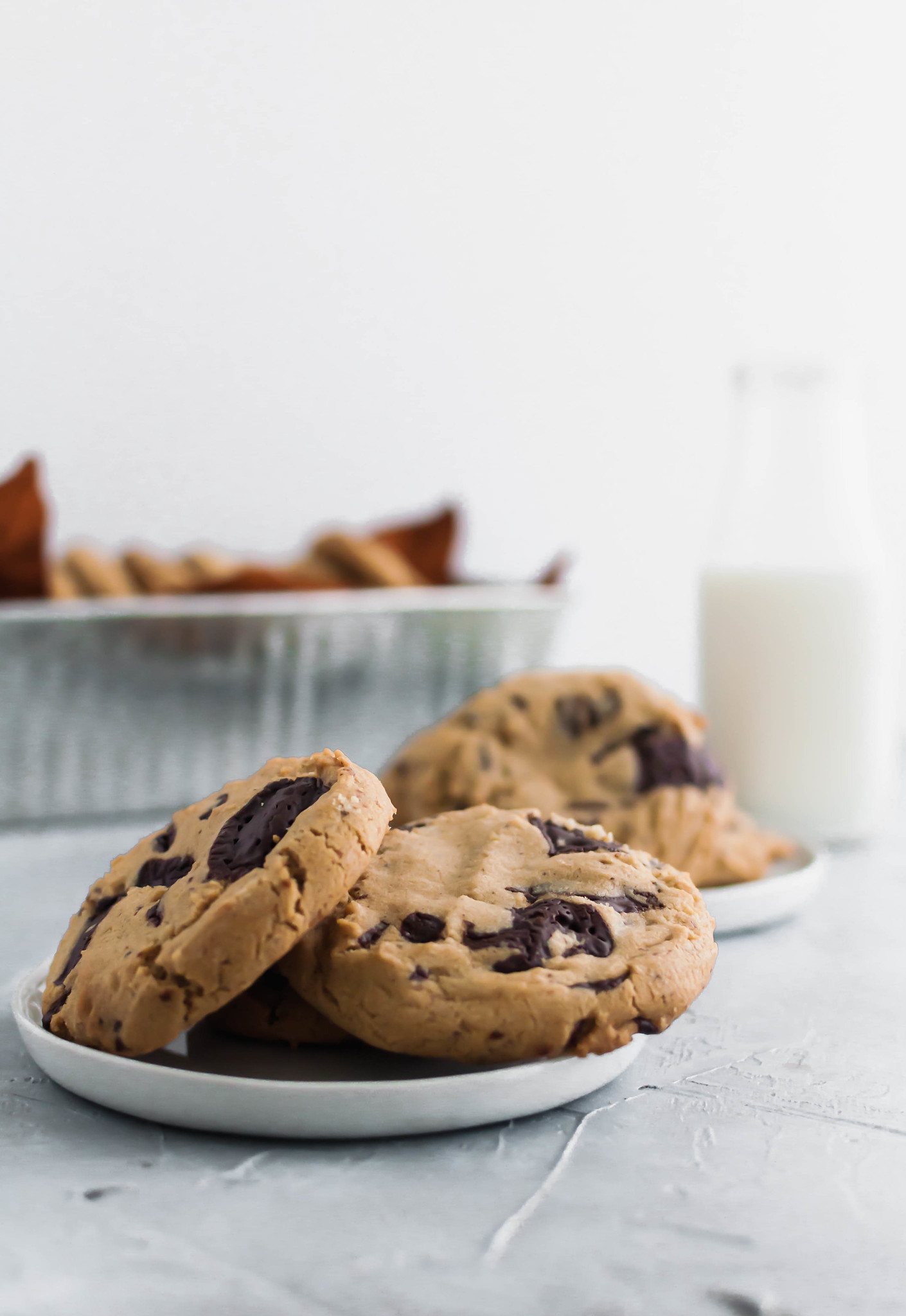 Get ready for the most flavorful cookies. These Brown Butter Chocolate Chip Cookies are the perfect chewy texture with a rich, nutty flavor from the brown butter. Perfect for all your holiday baking.