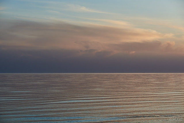 La mar.