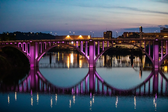 Evenings on the Tennessee River
