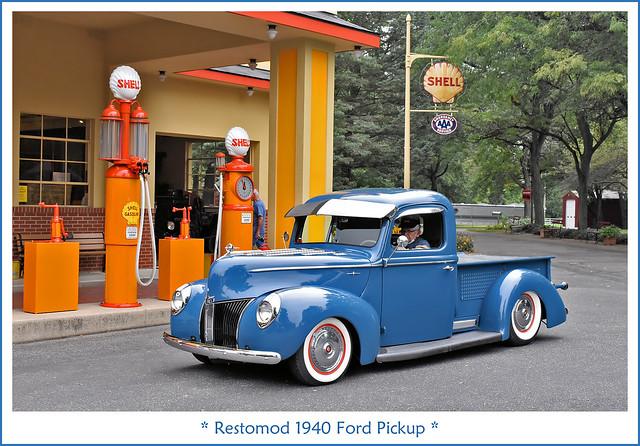 Restomod 1940 Ford Pickup