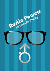 Austin Powers - Alternative Movie Poster