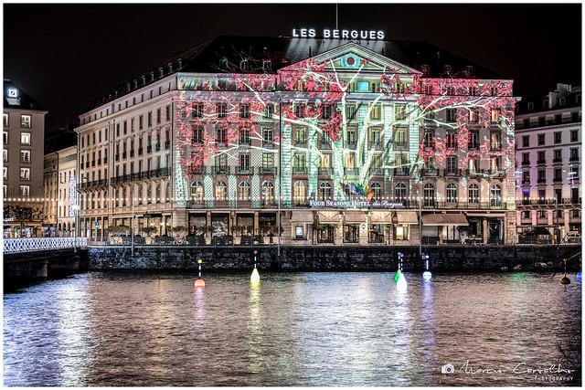 My Lovely Geneva - Seasons - Projection created by Yan Nguema - D85_0387