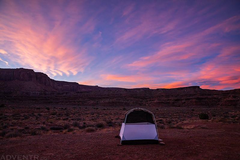 Gooseberry Camp Sunset