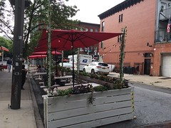 Outdoor dining, Park Slope, Brooklyn