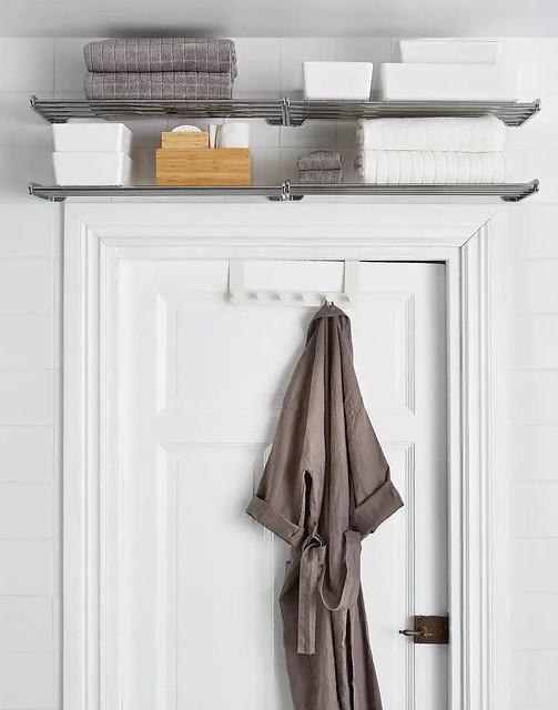 Two Shelves Above Door