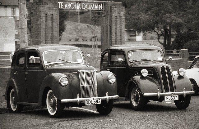 1951 Ford Prefect & 1951 Ford Anglia