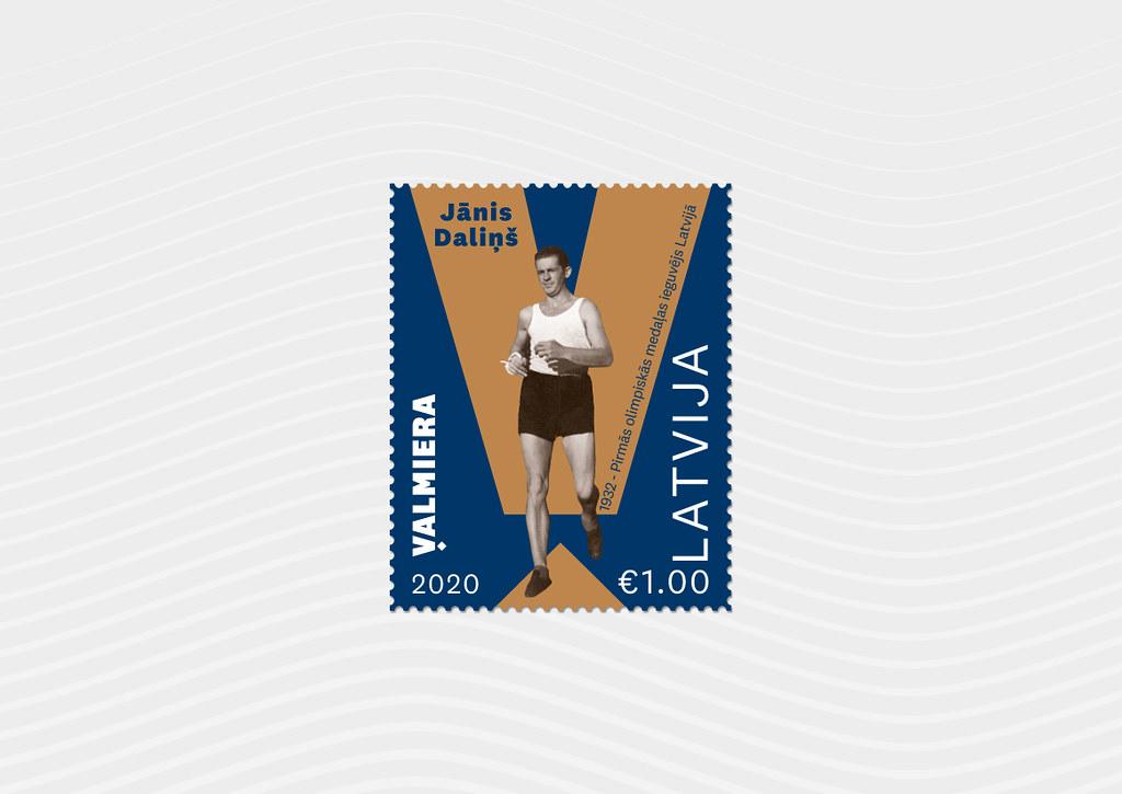 Pastmarka Jānis Daliņš - Latvijas Pasts - Flickr