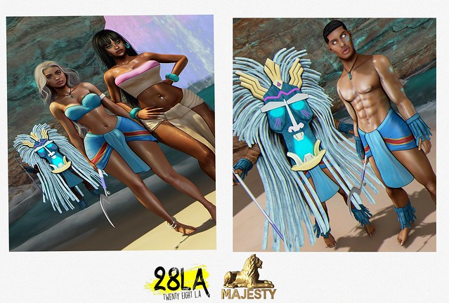28LA x Majesty. The road to Atlastis Collab updated for Kupra Body!