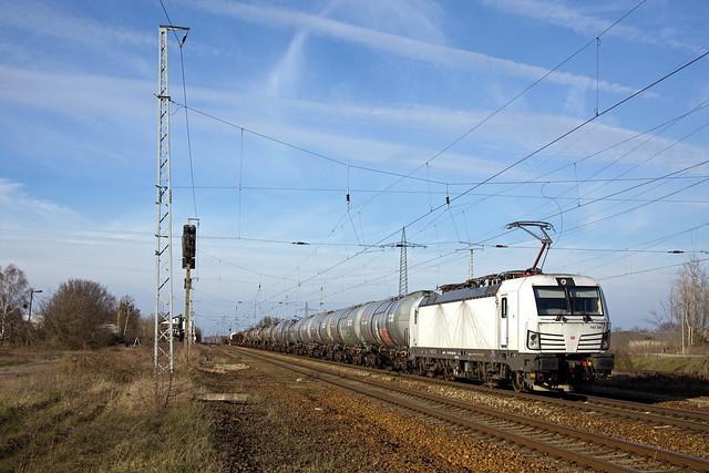 DB 193 365 + goederentrein/Güterzug/freight train   Wittenberge - Seddin  - Satzkorn