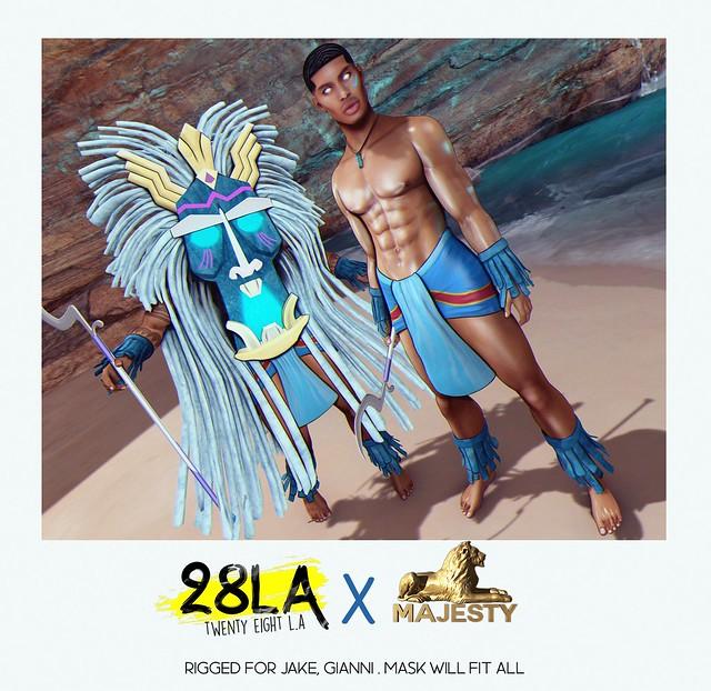 28LA. x Majesty Road to Atlantis Men