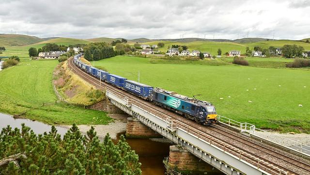 DRS Intermodal_4S43_Crawford, Scotland_250920_01