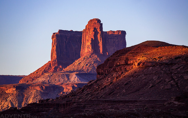 Buttes of the Cross