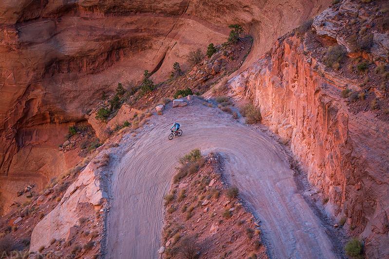 Shafer Trail Switchback