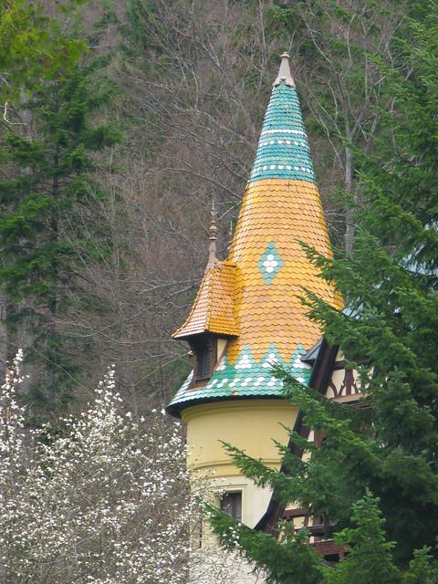 A tiny part of Pelisor Castle