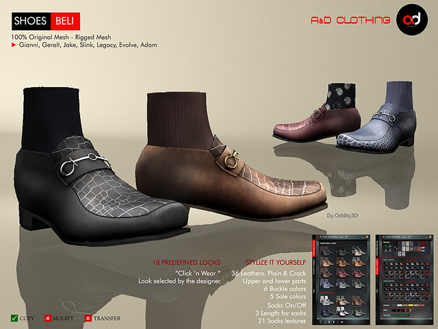 ! A&D Clothing - Shoes -Beli-     FatPack