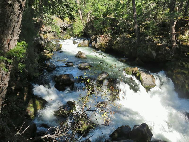 Rogue River at Natural Bridge
