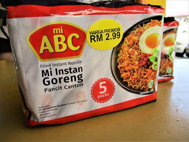 ABC instant mee goreng