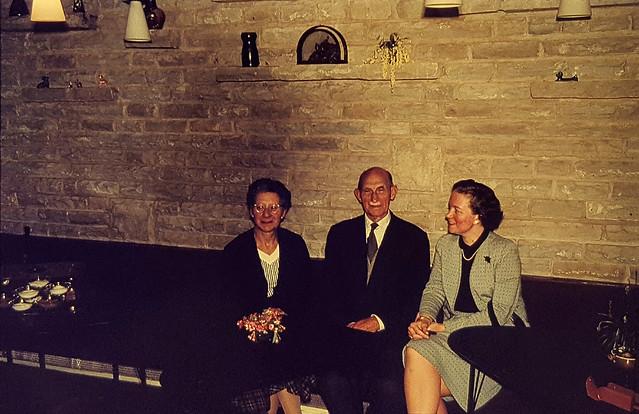 Tea room Rocamadour, Rickmansworth, 1957