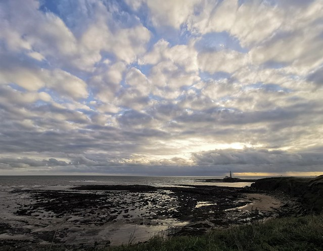 Cloudscape Landscape - St. Mary's Island