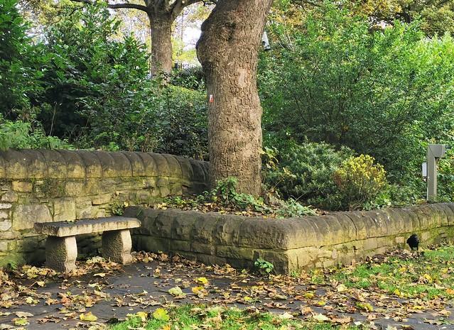 Stone Bench - Northumberland Park