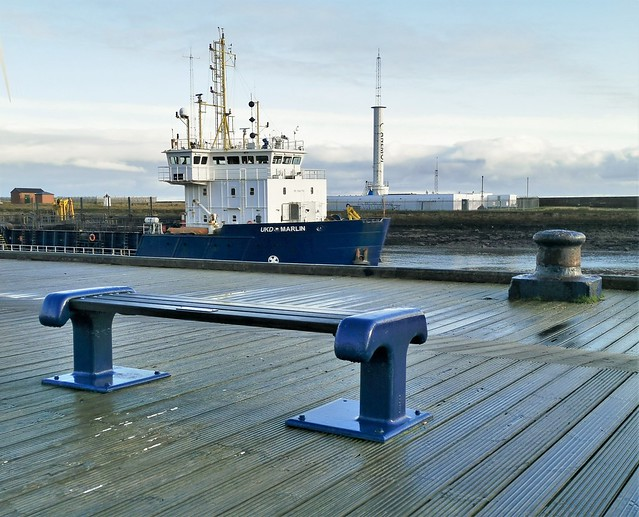 Boat View Bench - Blyth Staithes