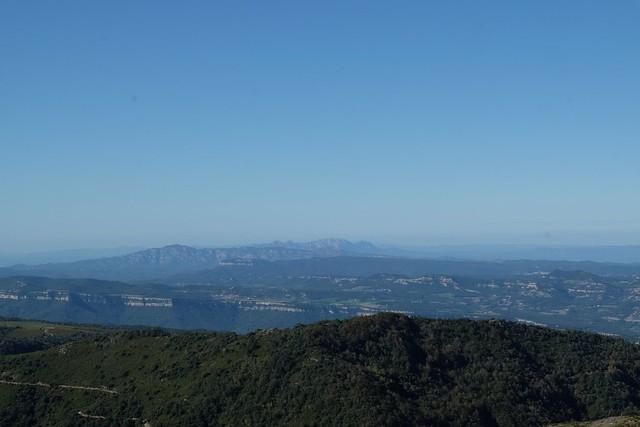 Montserrat des de Matagalls
