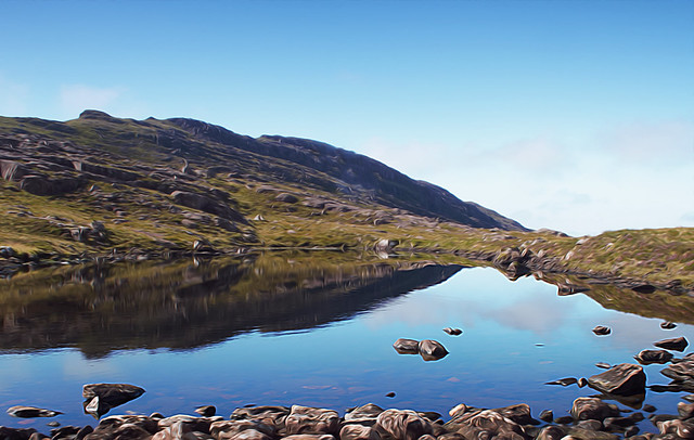 Reflections in the Lochan