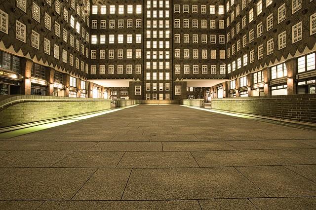 Chilehaus Hamburg  ...Innenhof