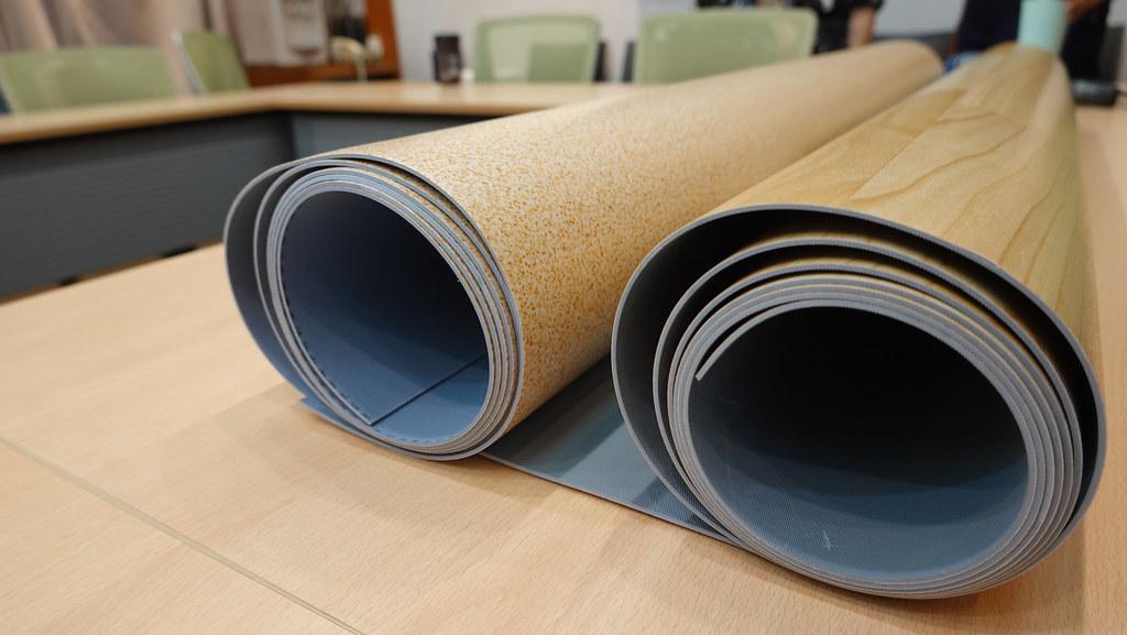 LG兩款舒適毯塑膠地墊產品塑化劑超標。孫文臨攝