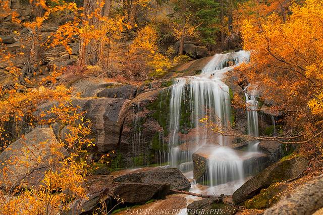 Autumn Waterfalls in Eastern Sierra