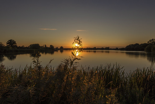 canon6d landscape lake water reflection sun sunset nature outdoors outside uk cambridgeshire