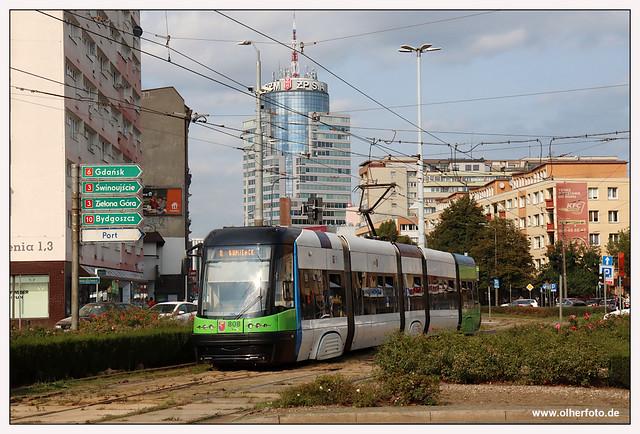 Tram Szczecin - 2020-11