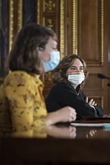Mar, 20/10/2020 - 11:22 - Roda de premsa 2a fase de Protegim Escoles