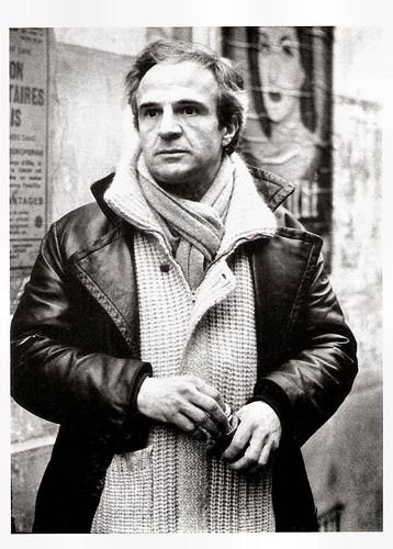 François Truffaut at the set of Le dernier métro (1980)