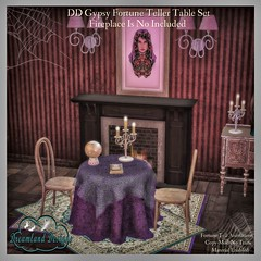 DD Gypsy Fortune Teller Table Set AD