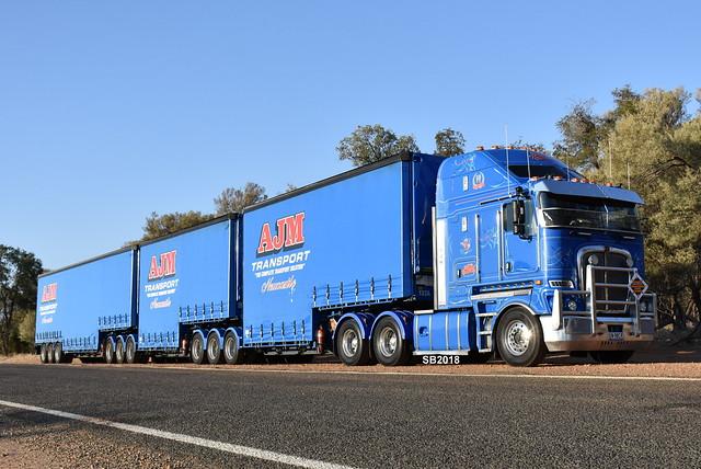 AJM Transport - Kenworth K200