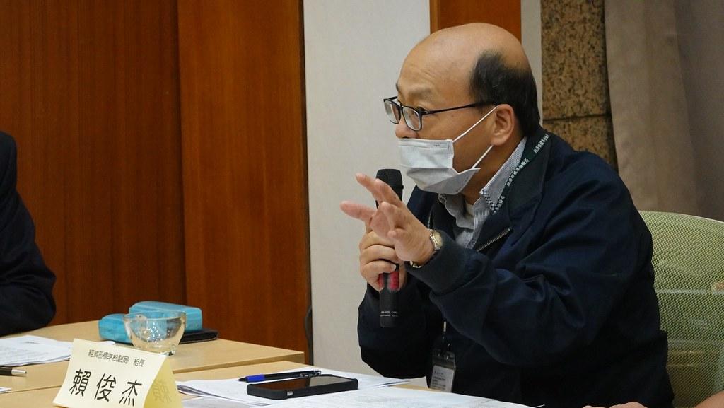 經濟部標檢局第二組組長賴俊杰表示,目前已要求違規產品下架,明年七月起將強制逐批檢驗。孫文臨攝