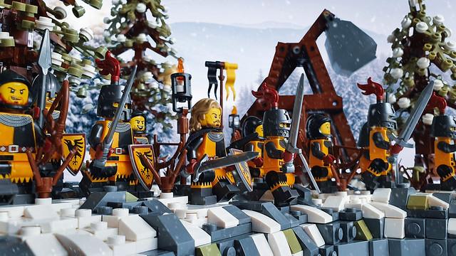 The Siege of Bricks MOC