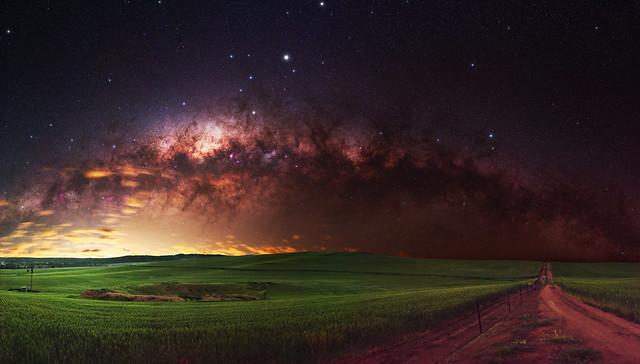 Milky Way at Goomalling, Western Australia