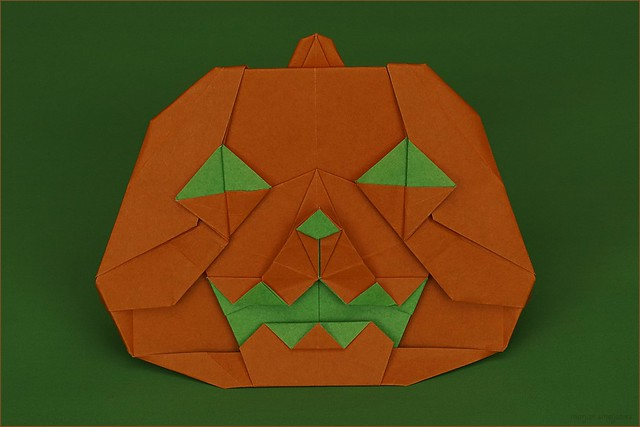 Origami Jack O'Lantern (Chuya Miyamoto)