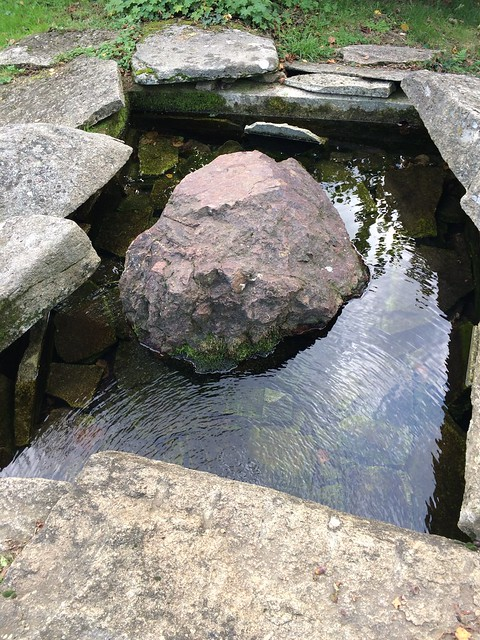 Source of the Charente river.