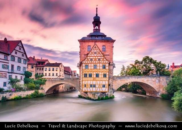 Germany - Bavaria - Bamberg - UNESCO World Heritage Site - Sunset