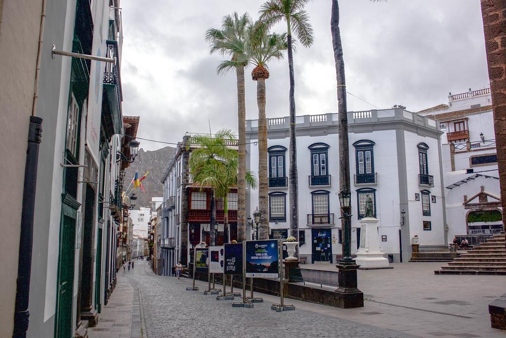 Santa Cruz de La Palma zona peatonal