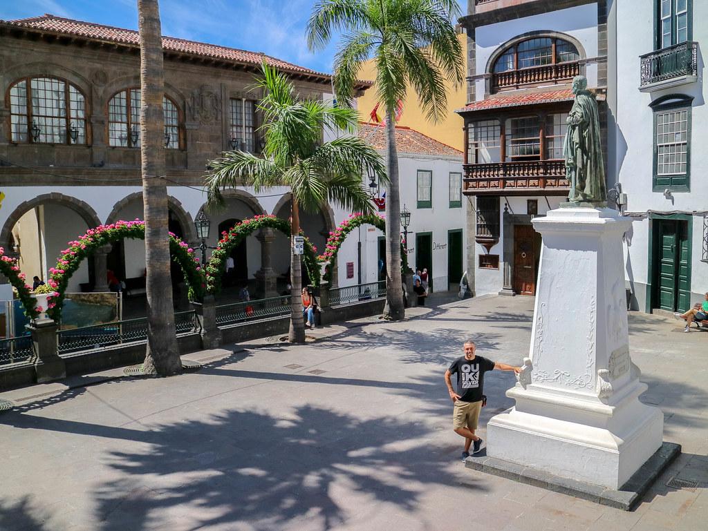 Plaza de España en Santa Cruz de La Palma