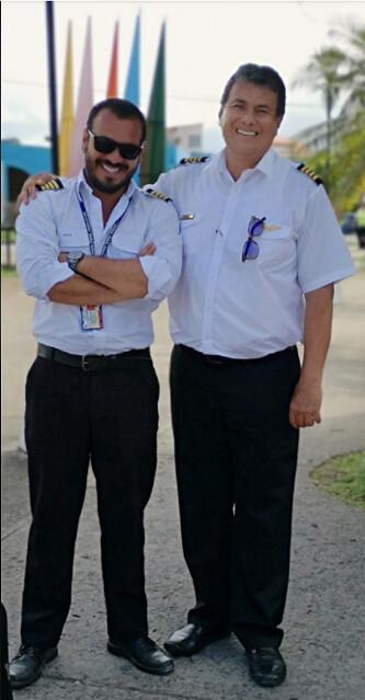 Samuel Niño Cataño y su tio Juan Carlos Niño Cataño, señalado de tener vínculos con narcotraficantes.
