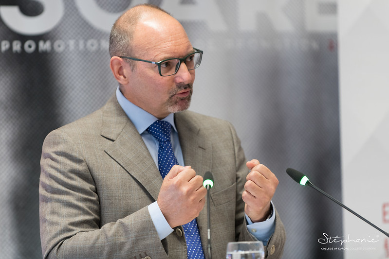 "Seventh high-level ""EU Diplomacy Lecture"", with Ambassador Roland KOBIA, EU Special Envoy for Afghanistan, European External Action Service.16 October 2020"