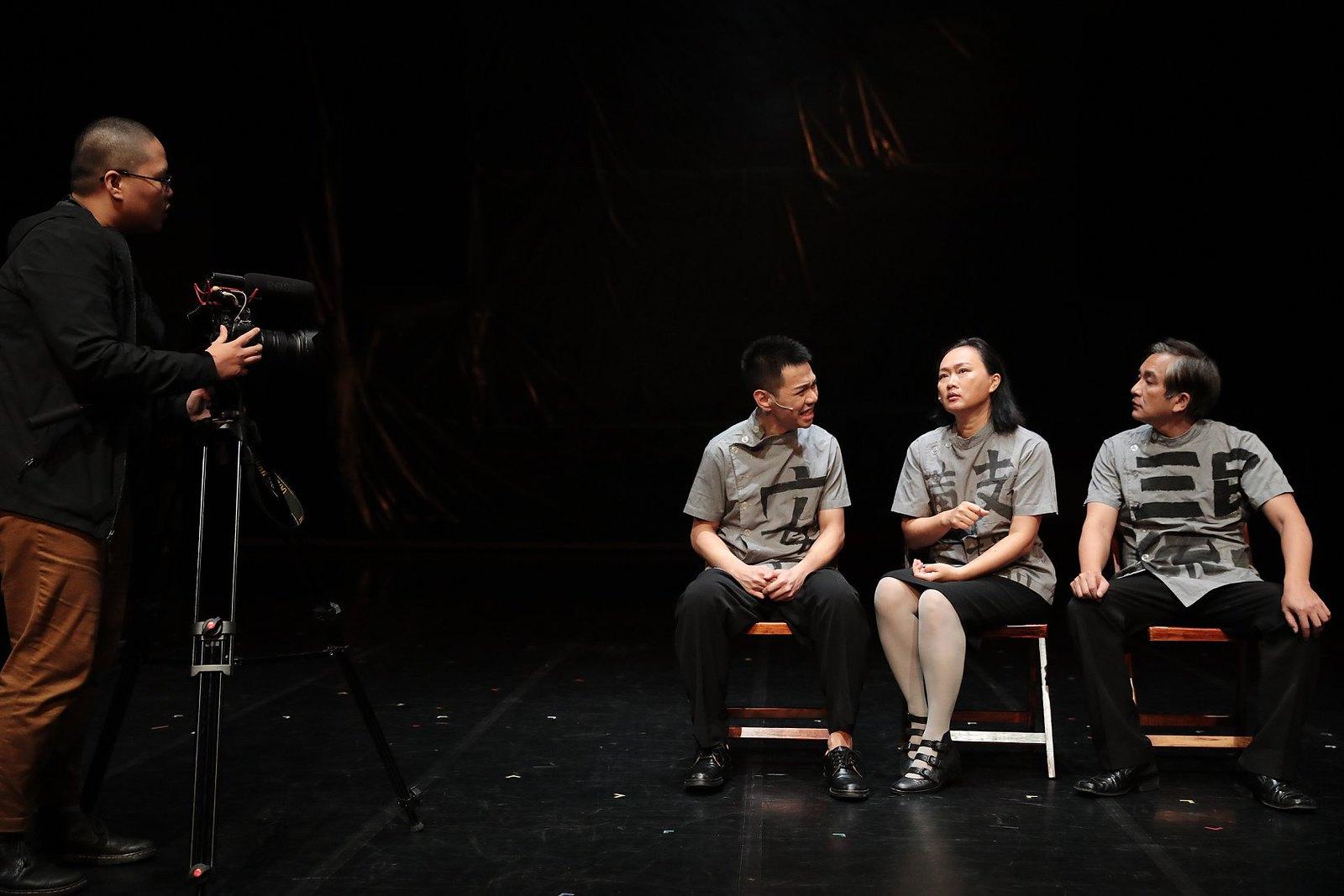 《范天寒和他的弟兄們》 劇照。(攝影:林筱倩/差事劇團提供)