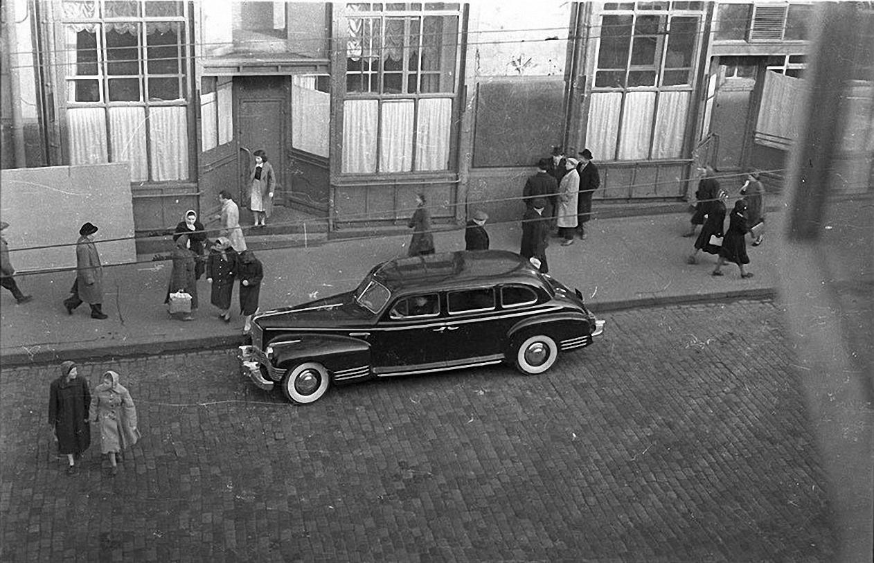 1950-е. Кузнецкий мост. Ателье МИДа