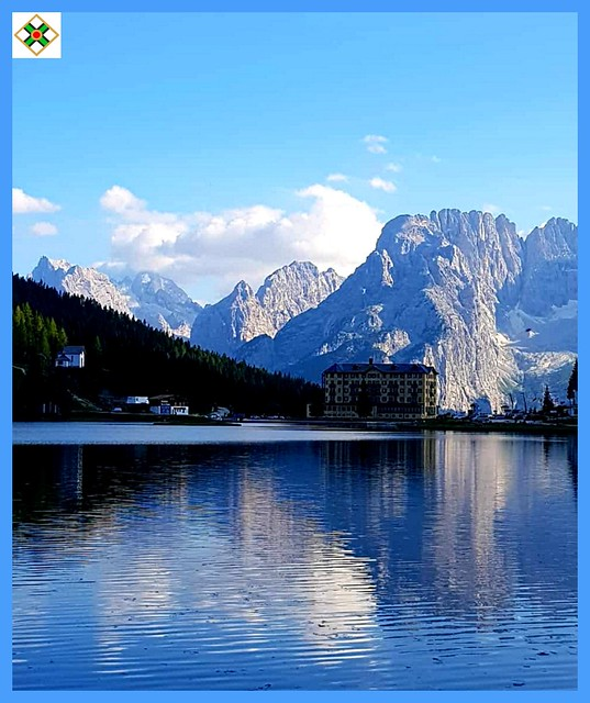 Mountain Blue Reflection on the Lake