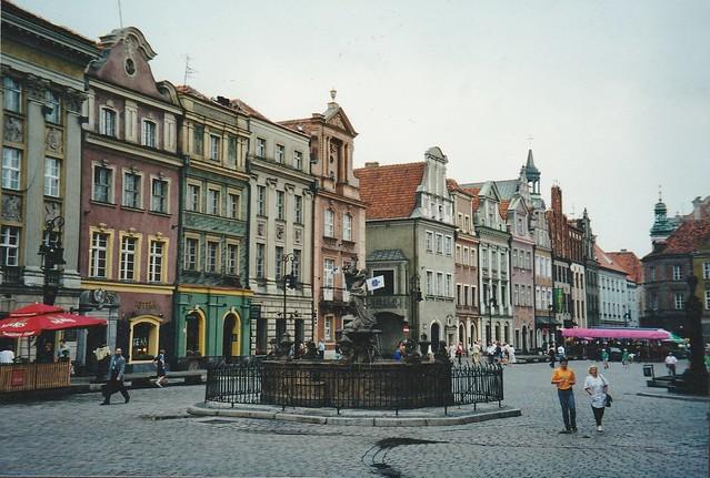Place de la Vieille Ville, Stary Rynek, Poznan, Grande-Pologne, Pologne.